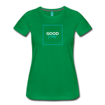 Good Vibes - Women's Premium T-Shirt - kelly green