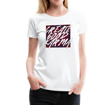 Create Good Karma - Women's Premium T-Shirt - white