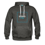 Good Vibes Bright - Men's Premium Hoodie - charcoal gray