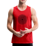 Breathe - Men's Premium Tank - red