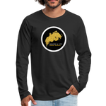 Men's Premium Long Sleeve T-Shirt - black
