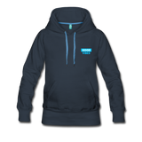 Good Vibes (Cool Blue) - Women's Premium Hoodie - navy