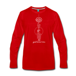 Good Karma Lives - Men's Premium Long Sleeve T-Shirt - red
