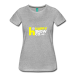 Happy - Women's Premium T-Shirt - heather gray