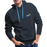 Happy Splash - Men's Premium Hoodie - navy