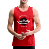 Good Vibes Giver - Men's Premium Tank - red