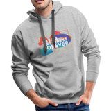Love & Happiness Forever - Men's Premium Hoodie - heather gray