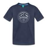 Great Outdoors - Kids' Premium T-Shirt - navy