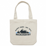 Happy Tribe Backcountry - Canvas Tote Bag