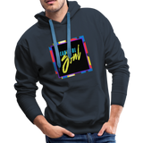 Beautiful Soul - Men's Premium Hoodie - navy