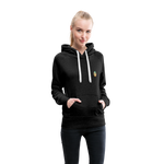 Happiness Lives - Women's Premium Hoodie - charcoal gray