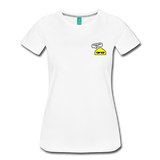 Good Vibes Only - Women's Premium T-Shirt - white