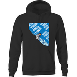 Good Times Good Vibes (Shred) - Pocket Hoodie Sweatshirt
