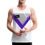 Happy Script - Men's Premium Tank - white