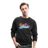 Love & Happiness Forever - Crewneck Sweatshirt - black