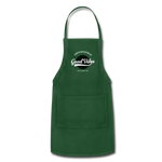Good Vibes Giver - Adjustable Apron - forest green