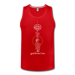 Good Karma Lives - Men's Premium Tank - red