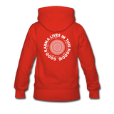 Good Karma - Women's Premium Hoodie - red