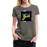 Beautiful Soul - Women's Premium T-Shirt - asphalt gray