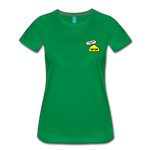 Good Vibes Only - Women's Premium T-Shirt - kelly green