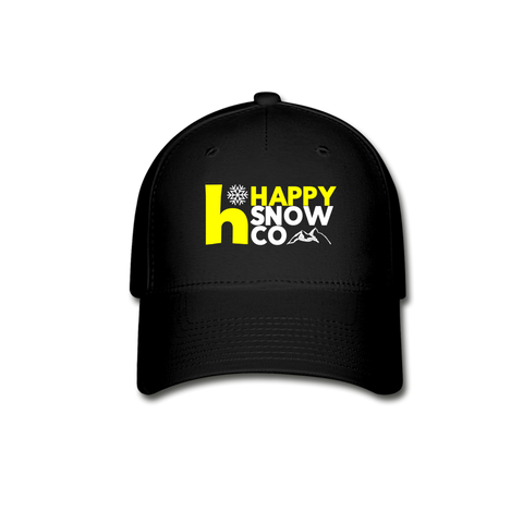 The Happy Baseball Cap - black