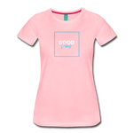 Good Vibes - Women's Premium T-Shirt - pink