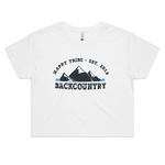 Happy Tribe Backcountry - Womens Crop Tee
