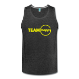 Team Happy - Men's Premium Tank - charcoal gray