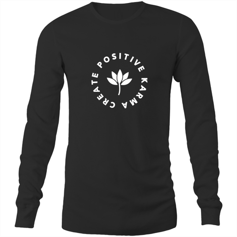 Create Positive Karma - Long Sleeve T-Shirt