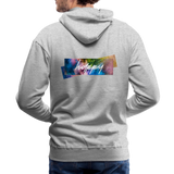 Happy Splash - Men's Premium Hoodie - heather gray
