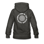 Good Karma - Women's Premium Hoodie - charcoal gray