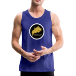 Breathe and Live Good Karma - Men's Premium Tank - royal blue