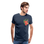 Happy Bloom - Premium T-Shirt - navy