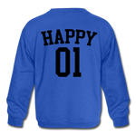 Happy One - Kids' Crewneck Sweatshirt - royal blue