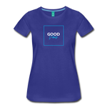 Good Vibes - Women's Premium T-Shirt - royal blue