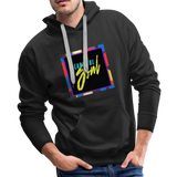 Beautiful Soul - Men's Premium Hoodie - black
