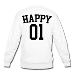 Happy One - Crewneck Sweatshirt - white