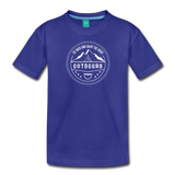 Great Outdoors - Kids' Premium T-Shirt - royal blue