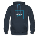 Good Vibes Bright - Men's Premium Hoodie - navy
