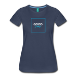 Good Vibes - Women's Premium T-Shirt - navy