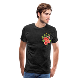 Happy Bloom - Premium T-Shirt - charcoal gray