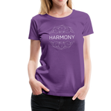 Harmony - Women's Premium T-Shirt - purple