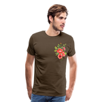 Happy Bloom - Premium T-Shirt - noble brown