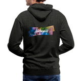 Happy Splash - Men's Premium Hoodie - charcoal gray