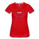 Good Vibes - Women's Premium T-Shirt - red