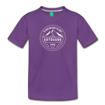 Great Outdoors - Kids' Premium T-Shirt - purple