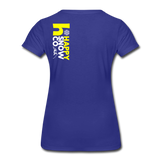 Happy - Women's Premium T-Shirt - royal blue