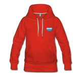 Good Vibes (Cool Blue) - Women's Premium Hoodie - red
