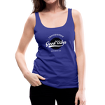Good Vibes Giver - Women's Premium Tank Top - royal blue