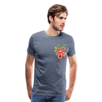 Happy Bloom - Premium T-Shirt - heather blue